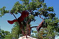 Albuquerque Bosque Sculpture.JPG