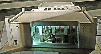 Central Synagogue of Aleppo - Model of the synagogue