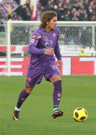Alessio Cerci - Cerci playing for Fiorentina in 2011