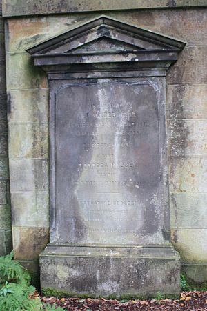 Alexander Wood (physician) - Alexander Wood's grave, Dean Cemetery