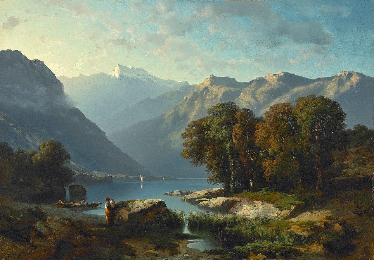 Alexandre Calame-Lac Leman 1849.JPG
