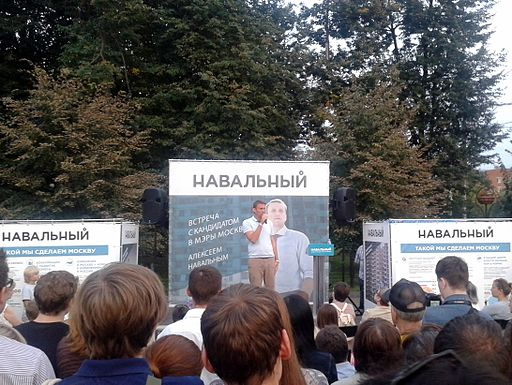 Alexey Navalny in Zelenograd