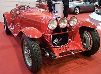 Alfa Romeo 8C - Alfa Romeo 8C 2300 Spider Corsa 1932