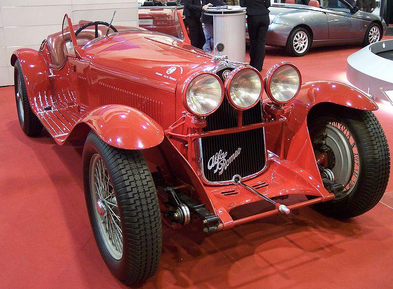 Image:Alfa Romeo 8C 2300 Spider Corsa 1932 red vr TCE.jpg