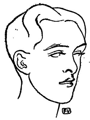Wixenford School - Lord Alfred Douglas by Félix Vallotton