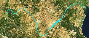 Haliacmon - Image: Aliakmon satellite