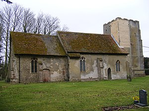 Chattisham - Image: All Saints & St.Margarets Church, Chattisham geograph.org.uk 1175543