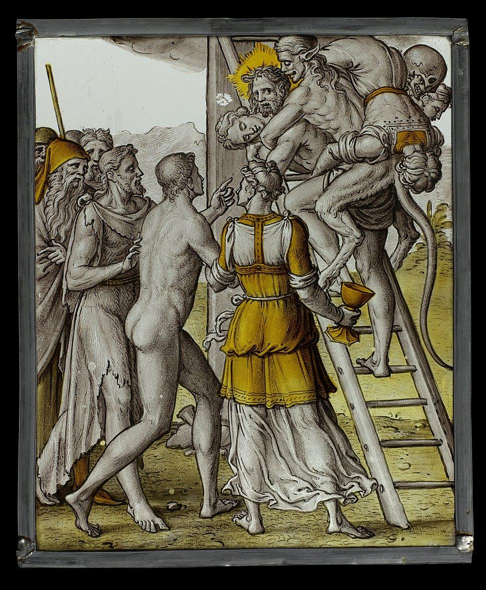 Allegorie van Christus als redder van de mensheid