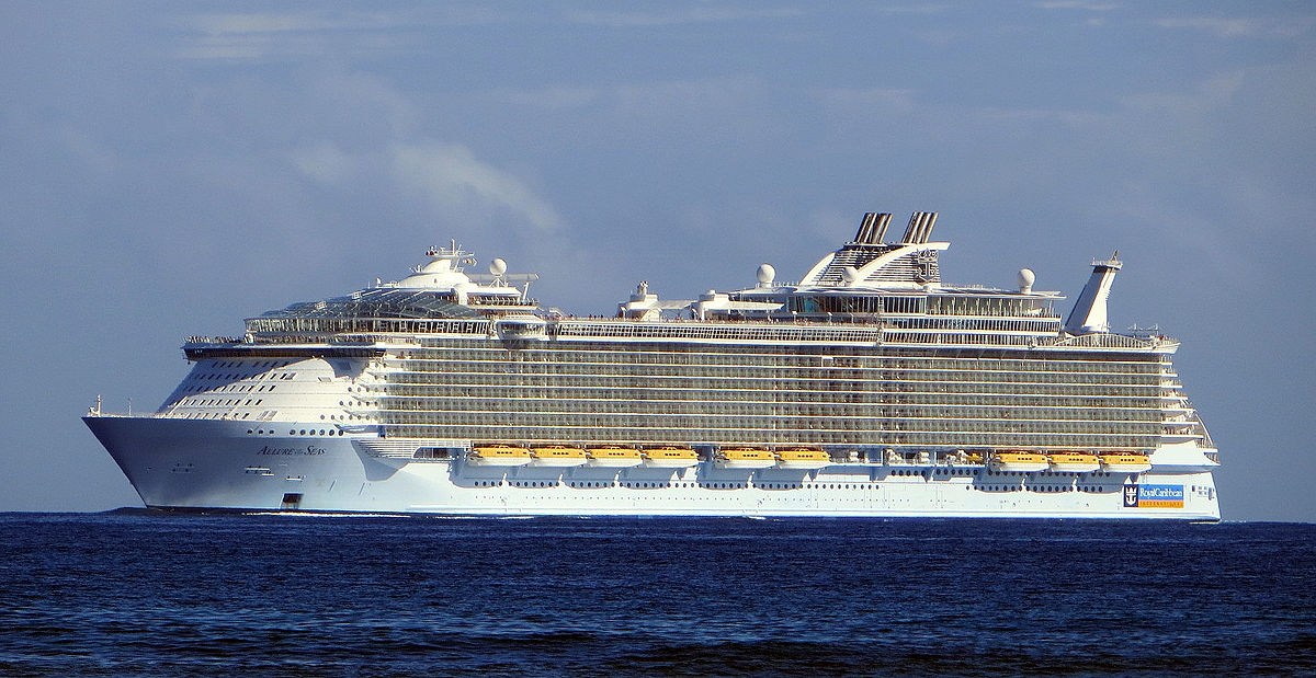 MS Allure Of The Seas Wikipedia - Biggest cruise ships in history