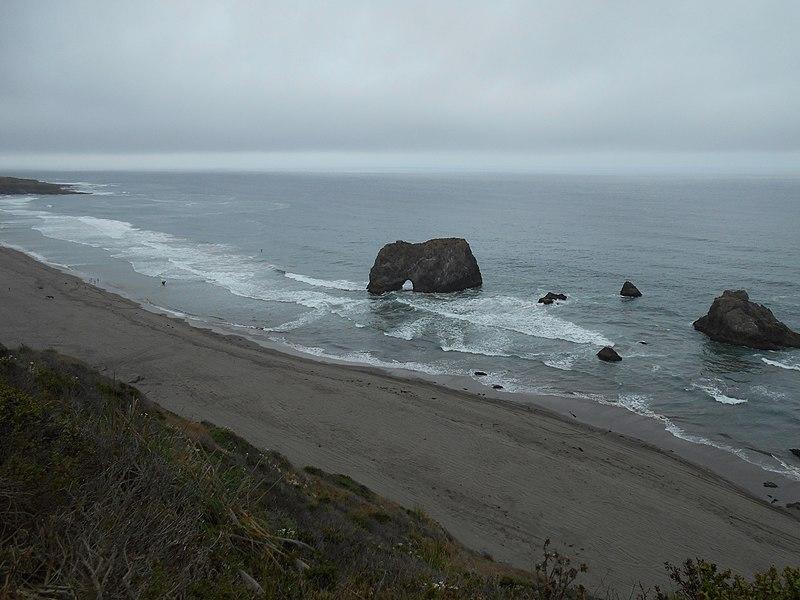File:Along coastline north of Fort Bragg, CA. (21898297422).jpg