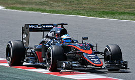 Alonso in de McLaren MP4-30