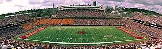Alumni Stadium - Alumni Stadium panorama
