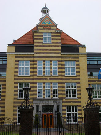 Ambachtsschool, Heerlen - Entrance to the Ambachtsschool in Heerlen