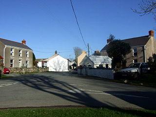 Ambleston village in United Kingdom