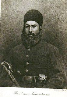 Abdur Rahman Khan During His Younger Years