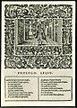 Amfiparnaso Orazio Vecchi Venice 1597 prologue.jpg