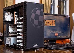 AmigaOS 4 - AmigaOne X1000 running AmigaOS 4.1