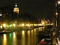 Amsterdam - Geldersekade by night.JPG