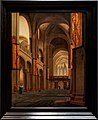 Amsterdam - Rijksmuseum 1885 - The Gallery of Honour (1st Floor) - The Nave and Choir of the Mariakerk in Utrecht, seen from the West 1641 by Pieter Jansz. Saenredam.jpg