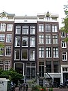 amsterdam bloemgracht 118 and 120 across
