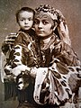 An Uzbek woman with her child, 19th-20th centuries.jpg