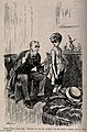 An aged doctor examining a young boys back when he is meant Wellcome V0011479.jpg