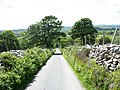 An unclassified road leading to Garndolbenmaen - geograph.org.uk - 450007.jpg
