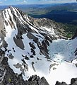 An unnamed lake and Williams Peak from Thompson Peak - panoramio.jpg