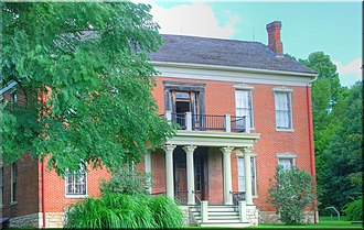 National Register of Historic Places listings in Lafayette County, Missouri - Image: Anderson House Lexington Mo