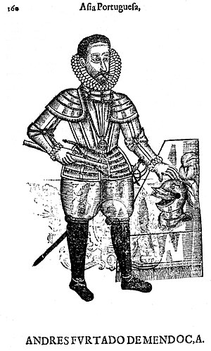 History of the Jaffna Kingdom - André Furtado de Mendonça, the Portuguese commander during the siege