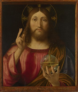 Globus cruciger - Christ as Salvator Mundi