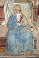 Andrea di bonaiuto, apotesosi di san tommaso d'aquino, scienze ed arti 06 Contemplazione e san Dionigi Aeropagita 3.JPG