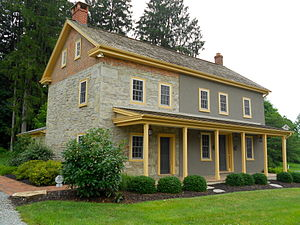National Register of Historic Places listings in Lancaster County, Pennsylvania - Image: Andrew's Bridge HD Lan Co PA 3