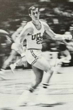 Andy Hill (basketball) - Hill playing basketball with UCLA in 1969–70