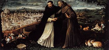 St Dominic and St Francis