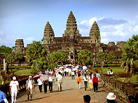 Prambanan In Java Indonesia 9th Century And Angkor Wat Cambodia 12th Examples Of Southeast Asian Hindu Temple Architecture