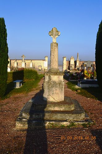 Angliers, Charente-Maritime - The Cemetery Cross