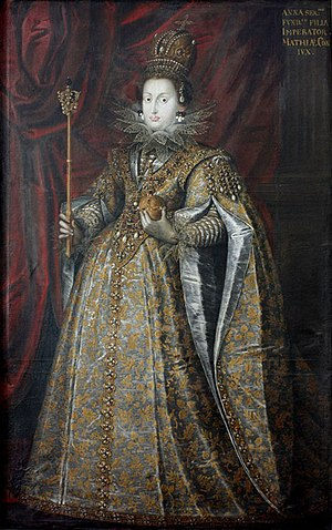 Anna of Tyrol - Anna as Holy Roman Empress.