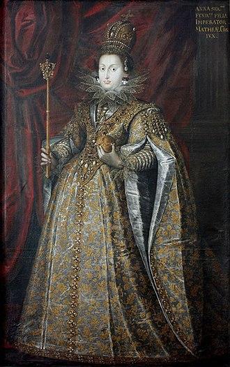 Anna of Tyrol - Anna as Holy Roman Empress.