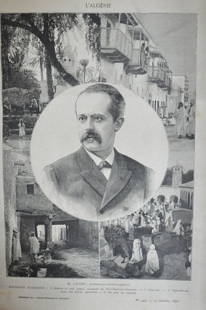 Louis Lépine - Governor of Algeria (1897-1899