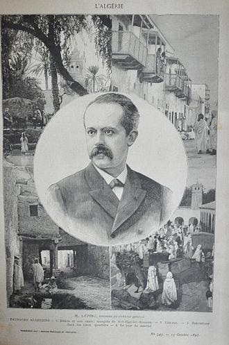 Louis Lépine - Governor of Algeria (1897-1899