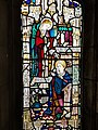 Annunciation window at Church of the Good Shepherd (Rosemont, Pennsylvania).jpg