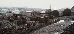 Antarctica, pollution, environment, Russia, Bellingshausen 2.JPG
