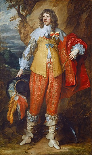 Anthonis van Dyck - Portrait of Henri II de Lorraine