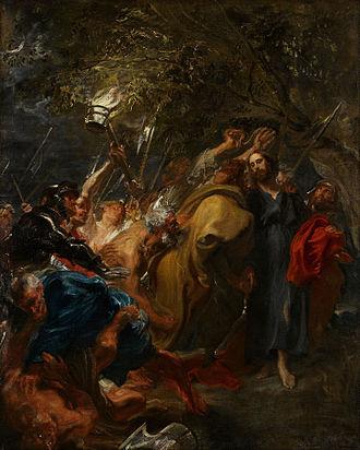 The Betrayal of Christ (van Dyck, Minneapolis) - Image: Anthony van Dyck The Betrayal of Christ Google Art Project
