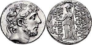Antiochos IX Kyzikenos, Tetradrachm, 110-109 f.Kr., HGC 3-1228i.jpg