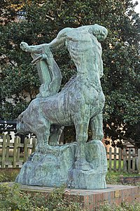 Antoine Bourdelle - La mort du dernier centaure - Montauban