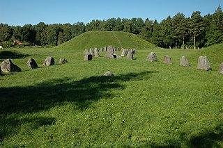 Anundshög Tumulus in Västmanland, Sweden