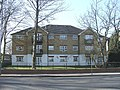 Apartment Block on corner of Harper Close and Chase Road, N14 - geograph.org.uk - 333259.jpg