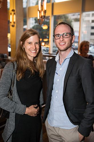 Airbnb - Airbnb founder Joe Gebbia (right)